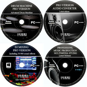 Pro Studio Audio Music Editor Creator Mixer Multi Track Record Edit