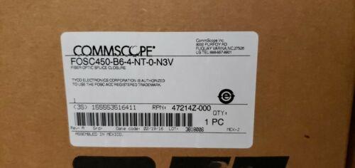 case FOSC450-B6-4-NT-0-N3V NEW Tyco Commscope  B Fiber Optic splice closure