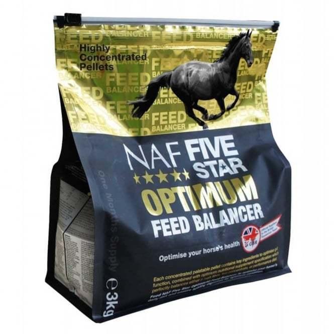 NAF 5 Star Optimum Feed Balancer 3kg horse supplement