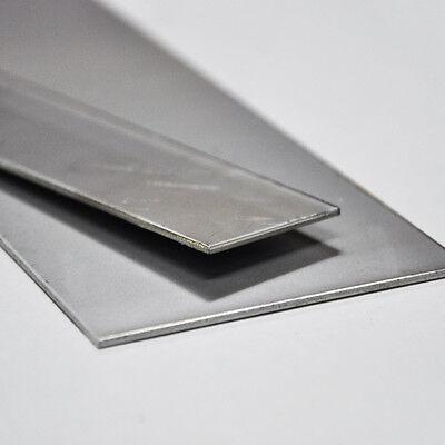 Edelstahl Flach V2A Flachmaterial Flacheisen roh bis 150cm