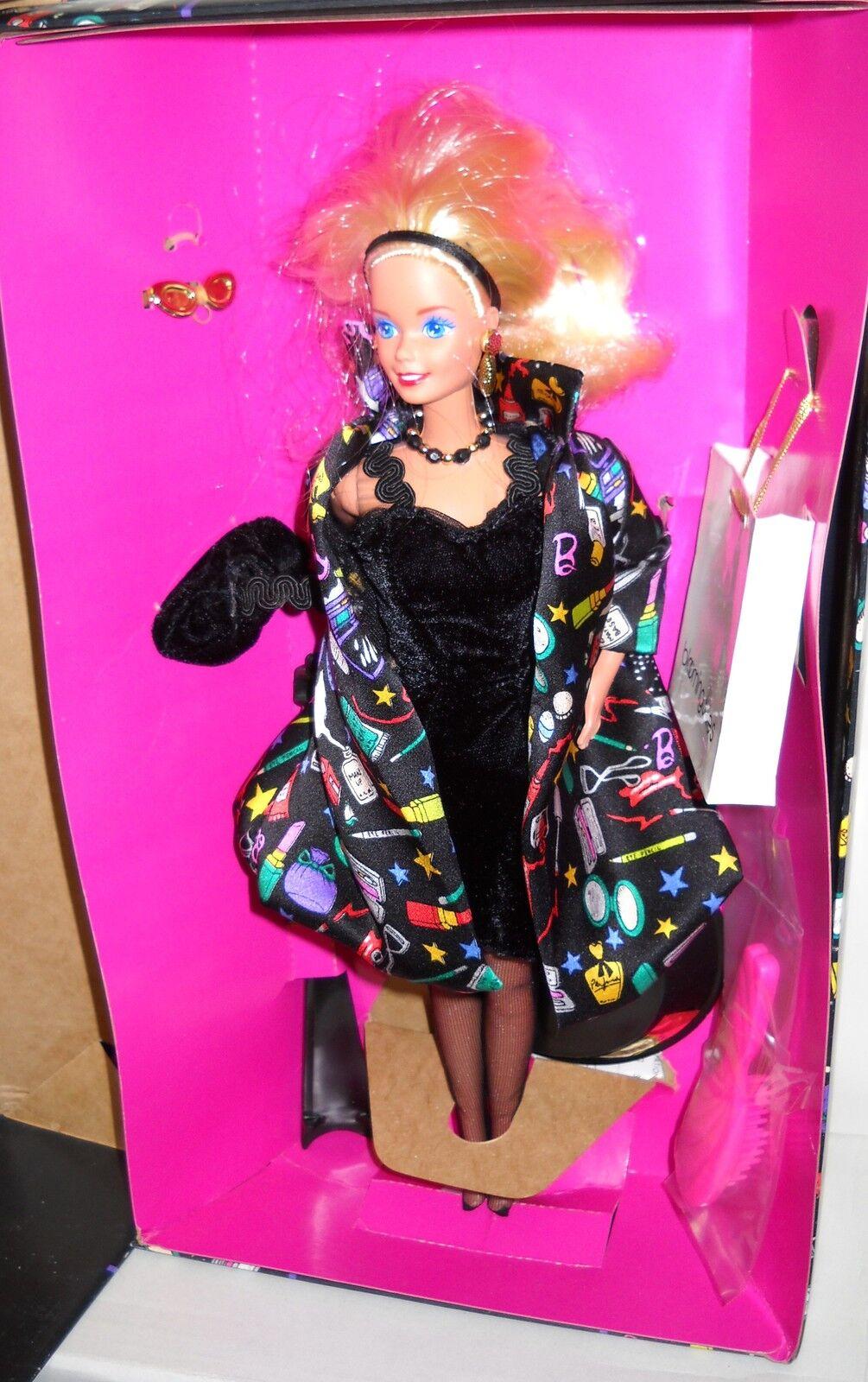 Nunca quitado de la Caja Mattel Bloomingdales Nicole Miller Diseñador Savvy Muñeca Barbie Shopper