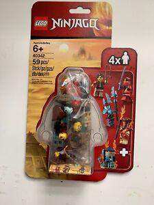 LEGO-NINJAGO-40342-Minifigure-set-BNIB-Sealed