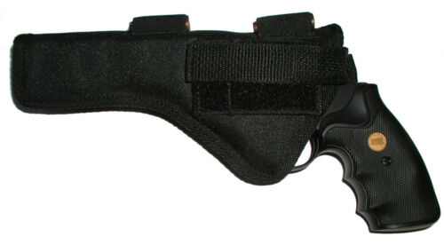 USA Holster Holds 5 Rounds fits Smith /& Wesson Model 19 S/&W 6 in barrel  .357