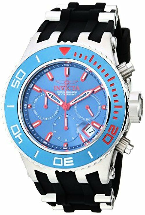 Invicta 22363 Mens Subaqua Quartz Stainless Steel and Silicone Casual Watch,