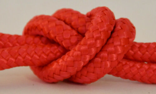 6mm RED Poly Rope,Polypropylene Braided,Boat,Camping,Yacht,Sailing