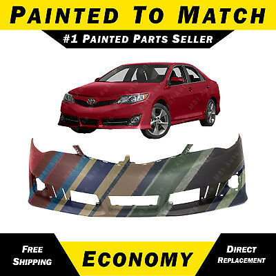 TO1000378 Make Auto Parts Manufacturing Front Bumper Cover For Toyota Camry 2012-2014