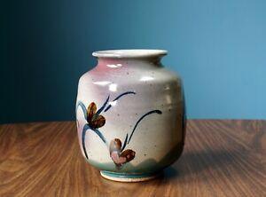 Studio-Pottery-Vase-John-Freimarck-Vintage-Ceramic-Flower-Art-Decor-Handmade
