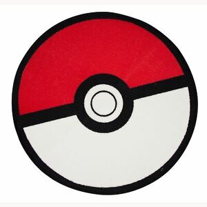 Pokemon-Pokeball-Sol-Tapis-Enfants-Chambre-Sol-Tapis-Rouge-Officiel-Neuf