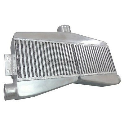 """CXRacing 2-In-1-Out Twin Turbo Bar & Plate Intercooler 3.5"""" Thick Core"""