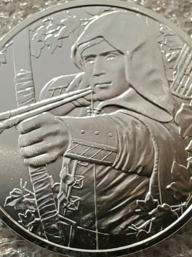 Robinhood prince of thieves Austria 825th Anniversary 1 oz .999 Silver Coin