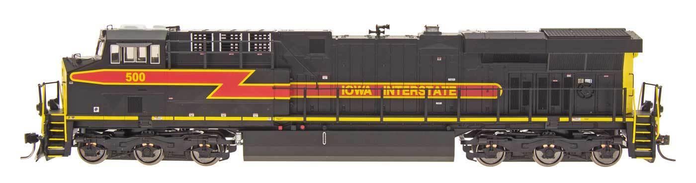 Iowa Interstate RR Tier 4 GEMINI esclusivo per serie ES44AC DIESEL CON ESU LOKsuono scala HO