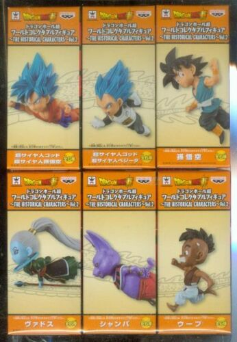 Banpresto Dragonball Super WCF World Collectable figure 30th Vol.6 Full Set of 6