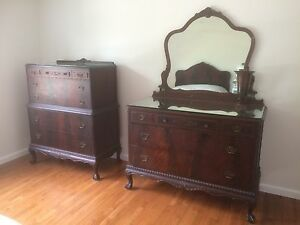 Vintage Mahogany Bedroom Set - Bedroom design ideas