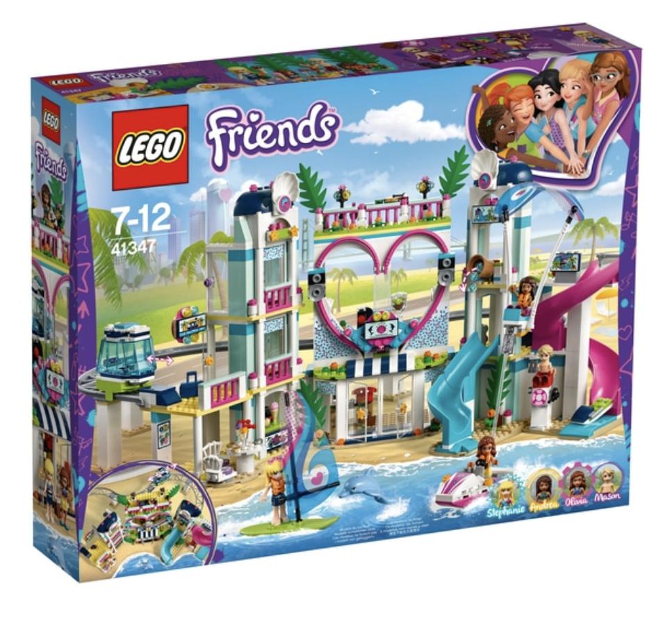LEGO 41347 Friends Heartlake City Resort Hotel Building Set - Kids Girls Toy New