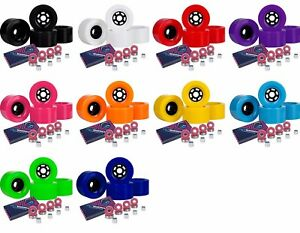 Cal-7-83mm-90mm-97mm-Flywheels-78a-Longboard-Color-Wheels-Abec7-Bearings