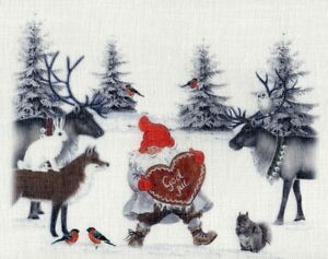 Zauberhafte gardine bistrogardine scheibengardine advent weihnachten 4 gr en ebay - Bistrogardine weihnachten ...