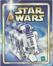 STAR WARS HASBRO TOY CATALOGUE 2002 – R2D2