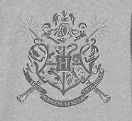 Harry Potter Hogwarts Wands Badge Raven Children/'s Unisex Grey Hoodie