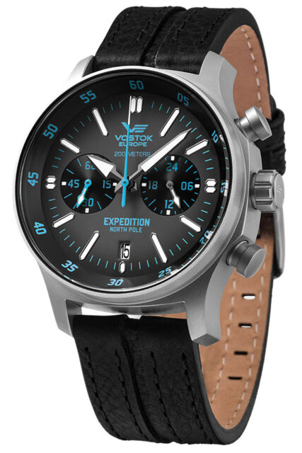 Vostok Europe Chronograph Expedition North Pole 1 Chrono VK64-592A561