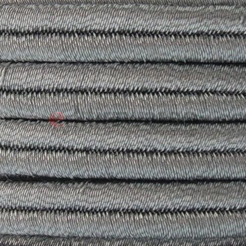 Soutach cordel 6mm//10m decoración metalizado cuerda lurex joyas decoración