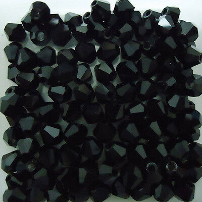 Free Shipp100pcs swarovski Crystal 4mm 5301# Bicone Beads