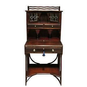 Antique Art Crafts Liberty S Mahogany Writing Desk Uk Delivery 95 Ebay