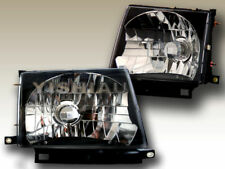 1997 1998 1999 2000 Toyota Tacoma Headlights Black Lamps Jdm Fits 1998 Tacoma