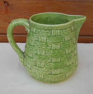 Antik Krug Bistrogardine,keramik Von Digoin Sarguemine,muster Geflochten,7308. Seien Sie Im Design Neu