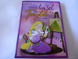 Disney-Trading-Pins-Rapunzel-Don-039-t-Get-Your-Tinsel-Tangled-Greeting-Card