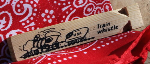Whistle New FREE SHIPPING! Child's Train Conductor Engineer Cap