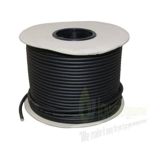 TUV DOUBLE ISOLATION basse tension DR Panneau Solaire PV Câble coupés de longueur 1800 V