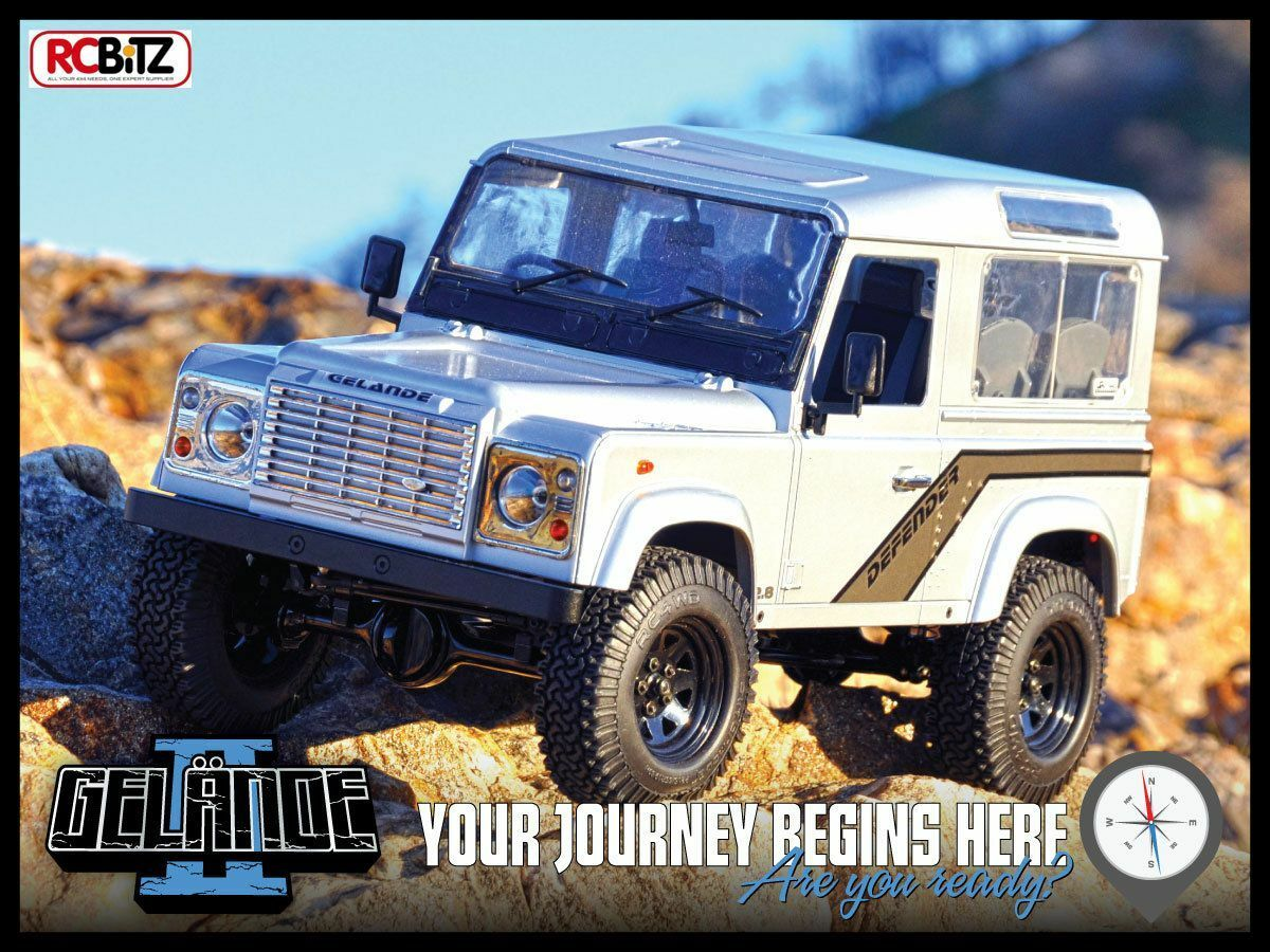 RC4WD gelande 2 II Telaio Camion KIT D90 Custodia Rigida Corpo incrossoibili dettagli G2 Z-K0001 RC