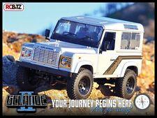 RC4WD Gelande 2 II Truck Kit D90 Defender Hard Body AMAZING Detail G2 Z-K0001