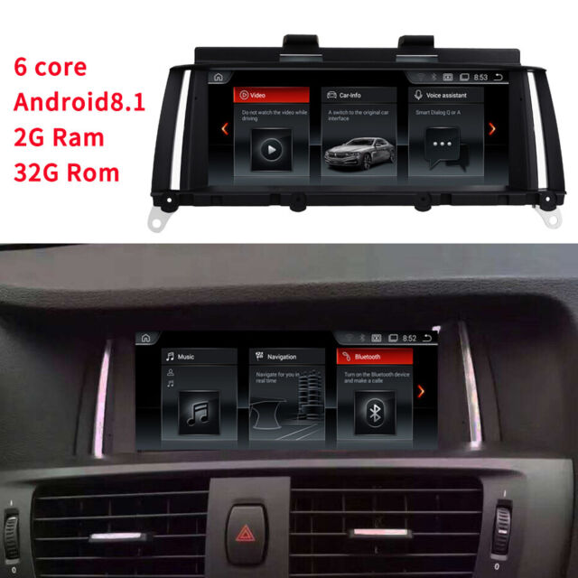 """8.8"""" Android Car GPS Navigation For BMW X3 F25 X4 F26"""