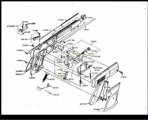 Crosman 454 Seal Kit