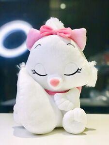Brand-New-Marie-The-Cat-Sleepy-Plush-Disney-Japan-Rare