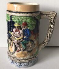 Vintage Ceramic Beer Stein Mug Tankard