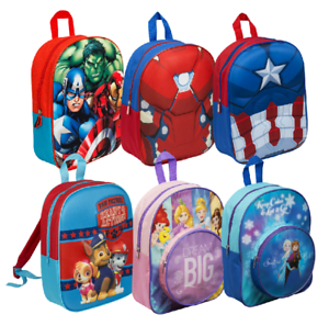 d5b9e9b6b24c Image is loading MARVEL-and-Disney-character-Backpack-for-School-Rucksack-