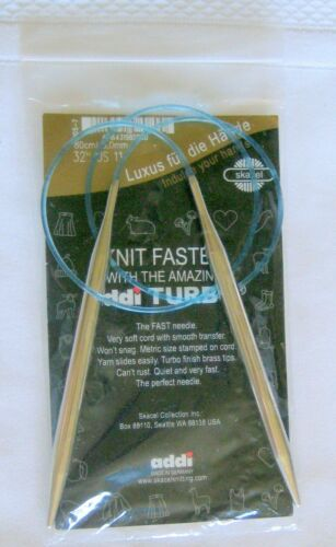 Natura Lace Addi Turbo More Added! Circular Knitting Needles Inox