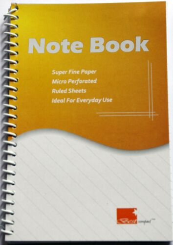 Spiral Notebook note book A5 160 pages Wholesale FREE Shipping Worldwide