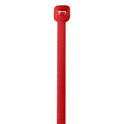 "Box Partners Cable Ties 50# 18"" Fluorescent Red 500Case CT185K"