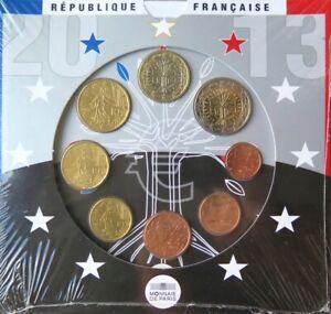 FRX2013.1 - COFFRET BU - EUROS FRANCE - 2013 : sous blister