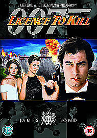 1 of 1 - LICENSE LICENCE TO KILL DVD JAMES BOND 007 REMASTERED EDITION Timothy Dalton New