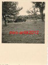 Foto, Wehrmacht, Blick auf eine Halbkette