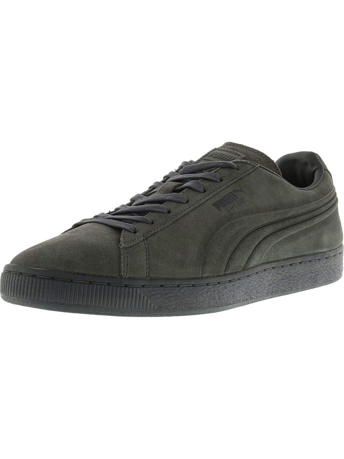 Puma Men's Suede Emboss Iced Ankle-High Fashion Sneaker