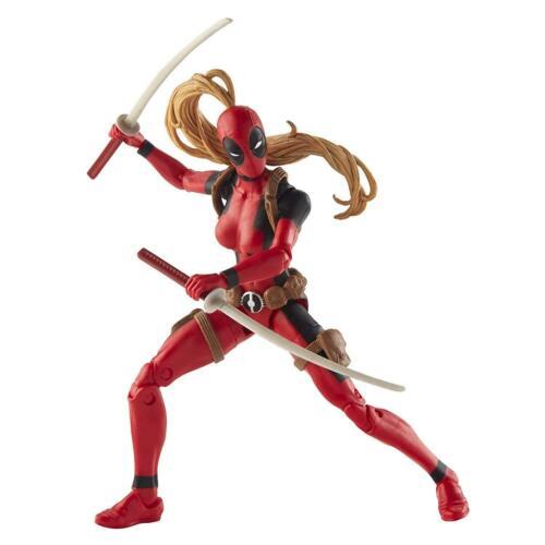 "SERIES 6/"" ACTION FIGURE MARVEL LEGENDS BAF SAURON Lady Deadpool **NEW**"