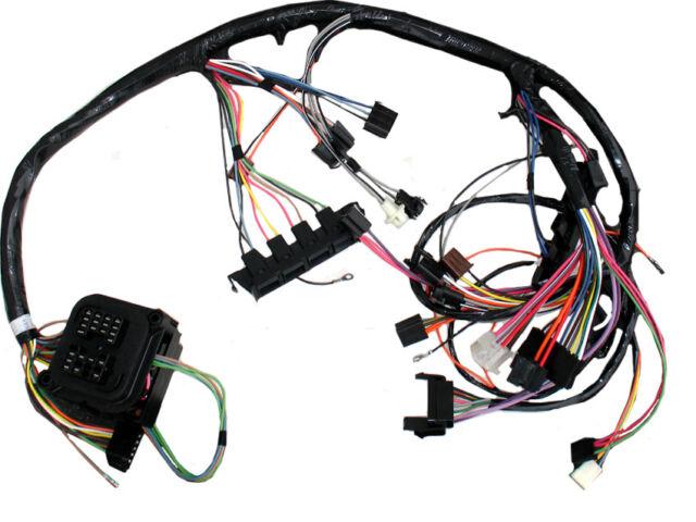 69 camaro dash wiring harness manual transmission console shift w factory  gauges for sale online | ebay  ebay