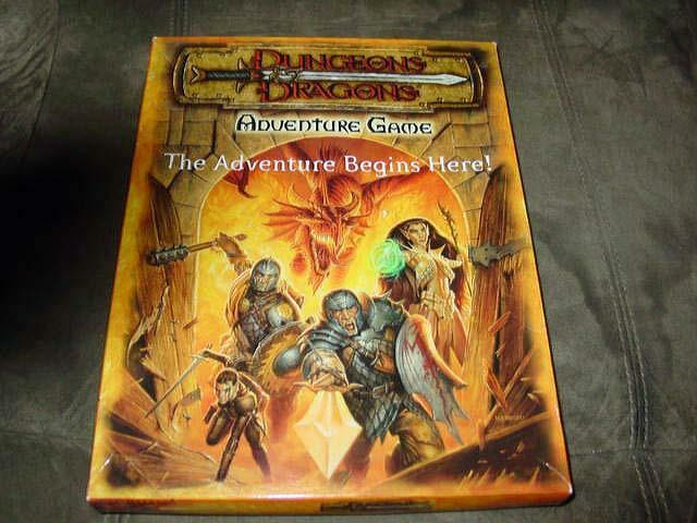 TSR - Dungeons & Dragons - Adventure Game - The Adventure Begins  - Excellent