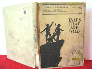 Enid-Blyton-TALES-THAT-ARE-TOLD-1934-HC-Treasure-Trove-Reader-HUGH-CHESTERMAN