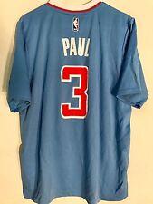 Adidas NBA Jersey Los Angeles Clippers Chris Paul Light Blue Short Sleeve sz M